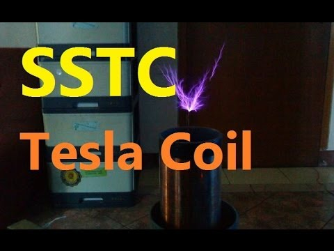 SSTC Tesla Coil with 555 IC Timer