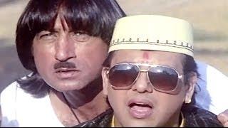 Raja Babu Comedy Scene - Govinda Helps Villagers
