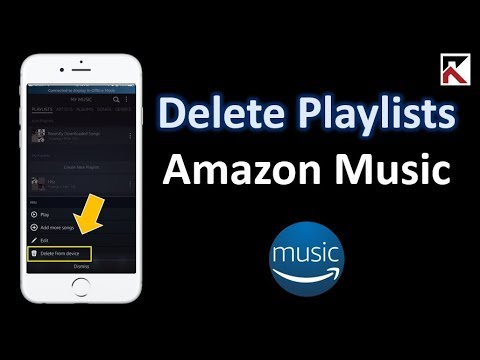 How To Delete Playlist Amazon Music