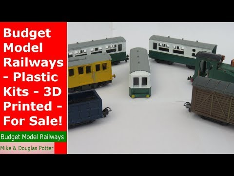 Model Railway / Railroad - 3D Printed Locos & Rolling Stock