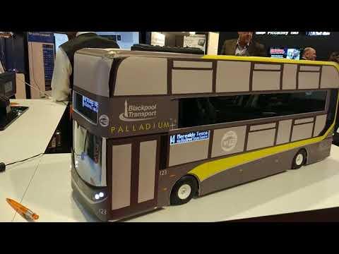 Coach and Bus show UK Birmingham 2017