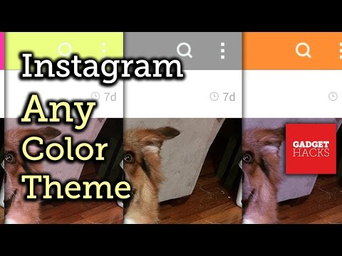 Make Instagram's Theme Any Color You Want on Android [How-To]