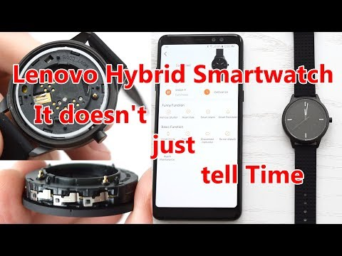 Lenovo Hybrid Smartwatch 9 Review Disassembly and Battery Replacement