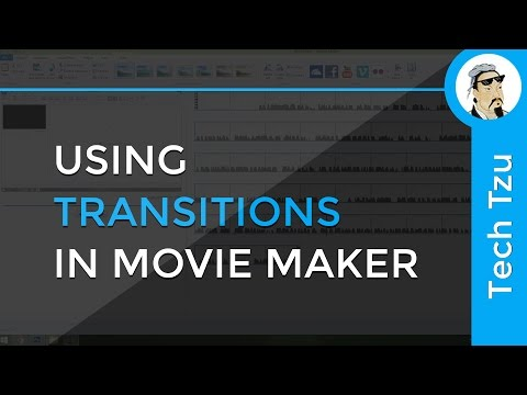 How to use Transitions in Movie Maker