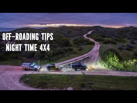 4x4 at night Off-Road Driving Tips
