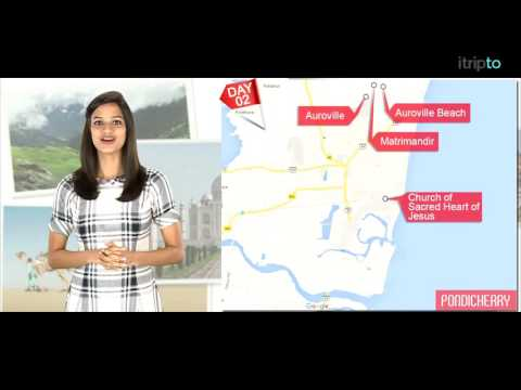 Pondicherry tour: 2-day itinerary in 60 seconds