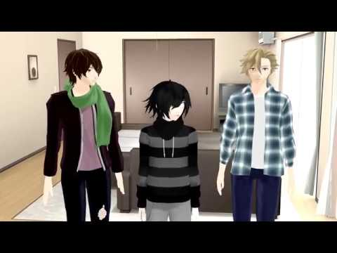 Boys Will Be Boys... (Zane, Garroth, Vylad, Aaron) [MMD]