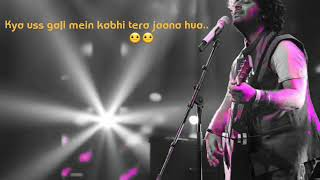 Khamoshiyan slow version || whatsapp video status || unplugged Arijit Singh || Lyrics 2019 instagram