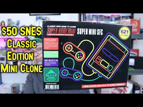 FAKE! SNES Classic Edition Mini Clone That Doesn't Play SNES Games!