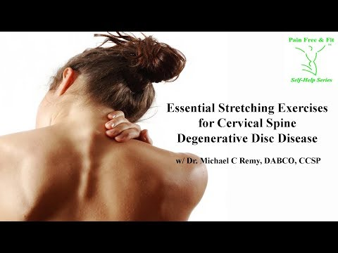 Essential Stretching Exercises for Cervical Spine Degenerative Disc Disease