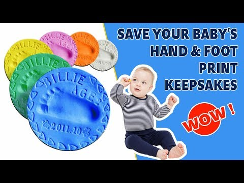 2017 Special Clay to Mold & Save Baby's Foot Print Keepsakes