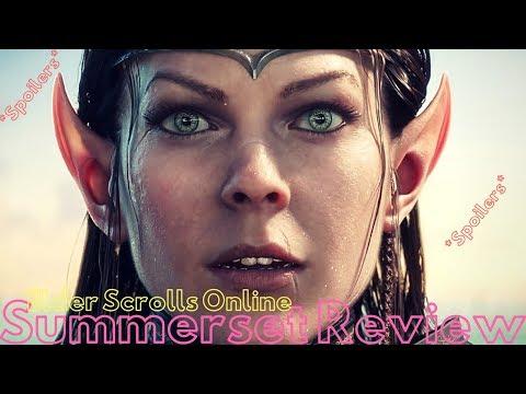 Elder Scrolls Online| Summerset Review (spoilers)