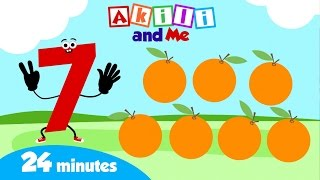 Shapes & Numbers Compilation - 24 minutes | Akili and Me | African Educational Cartoon