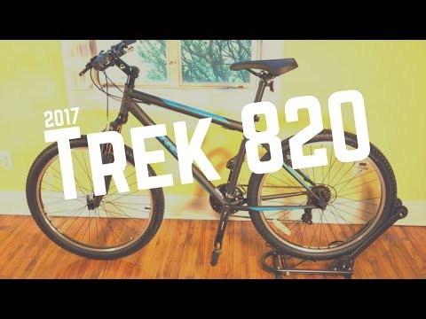 2017 Trek 820 Mountain Bicycle - Feature overview