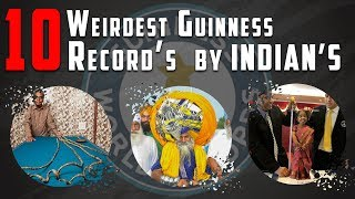 Top 10 Weirdest Guinness records by Indians - Part 2 | Simbly Chumma