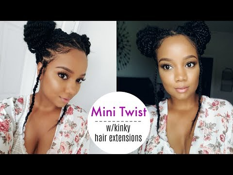 IT'S TOO HOT FOR ALL THAT HAIR! SHOULDER LENGTH TWIST! ~ SAMSBEAUTY