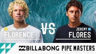 John John Florence vs. Jeremy Flores - FINAL - Billabong Pipe Masters 2017