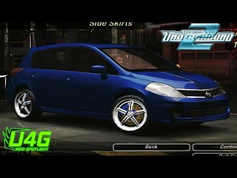 Nissan Tiida/Versa SL Need For Speed Underground 2 Mod Spotlight U4G