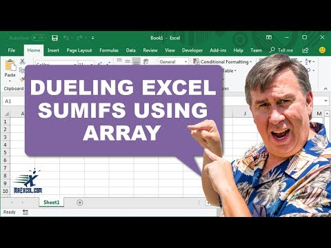 Dueling Excel - SUMIFS Criteria is Array - Duel 160