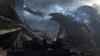 Godzilla vs Ghidorah, Mothra vs Rodan | Godzilla: King of the Monsters [4k, HDR]