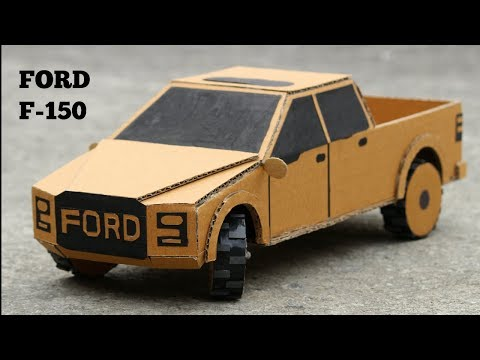 How to make Ford F150 RC Car DIY - Very Simple