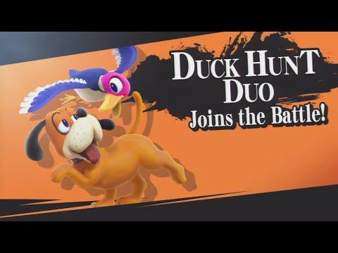 Super Smash Brothers Wii U - Duck Hunt Dog Unlock Battle