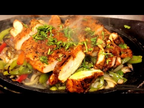 Mexican Easy Chicken Fajitas Recipe (In English)
