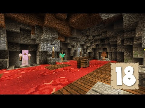 THE ARMOR ROOM...Or CAVE!! - Survival Let's Play Ep. 18 - Minecraft 1.2.2