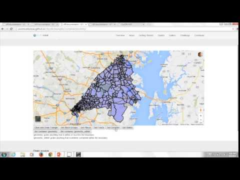 US Census CitySDK Demo