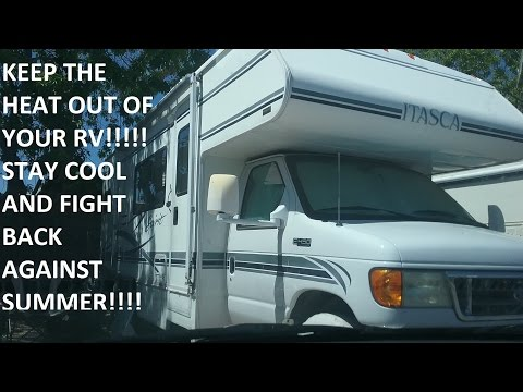 How To Stay Cool in a RV in the Summer Heat