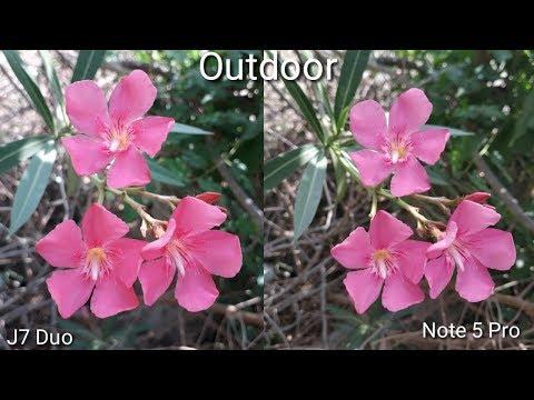 Galaxy J7 Duo VS Note 5 Pro Camera Comparison