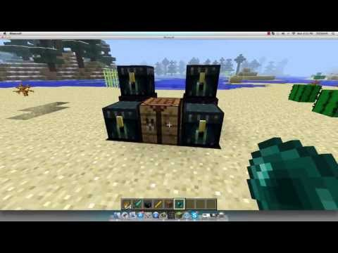 How to make an Ender Chest 1.8