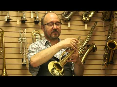 Misaligned Trumpet Valve