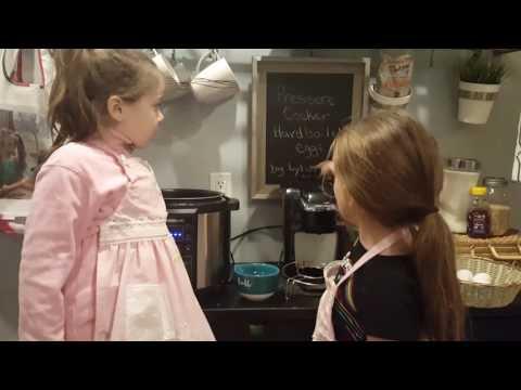 Pressure cooker hard boiled eggs Farberware by Lylah and Aliza