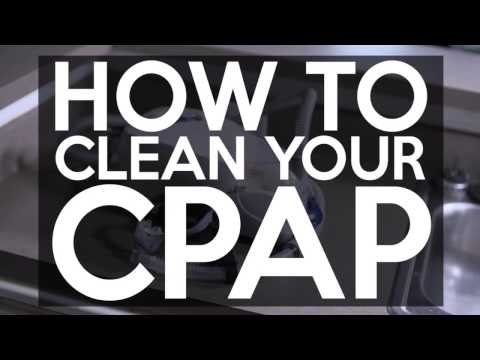 How to Clean Your CPAP