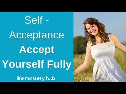 Self-Acceptance - Accept Yourself Fully Meditation - Subliminal Affirmations