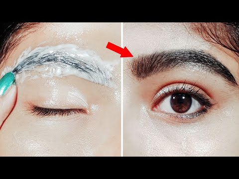 நான்கு நாட்களில் புருவங்கள் அடர்த்தியாக வேண்டுமா !!!! Easy way to Get Thick Eyebrows in Tamil