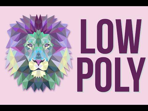Photoshop | Illustrator CC Beginner Tutorial: Make a Low Poly Portrait ! 2016