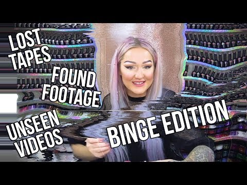 19 UNSEEN/ARCHIVED NAIL ART VIDEOS - BINGE EDITION