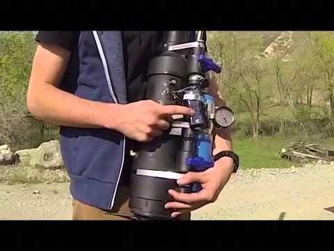 Potato Cannon Propane Fuel Optimization