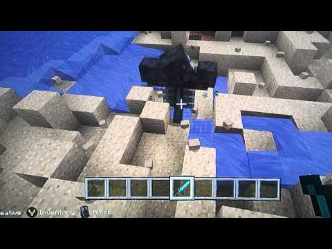 How to spawn the wither boss on Minecraft (by JETPACKNEO)