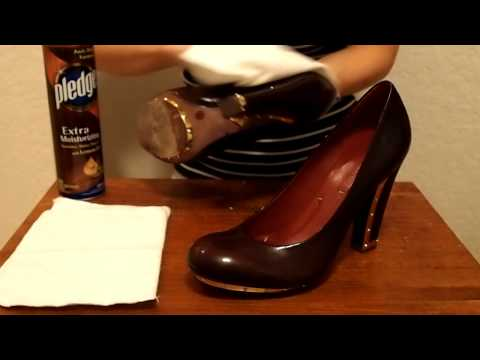 Cleaning Patent Leather | How to clean patent leather
