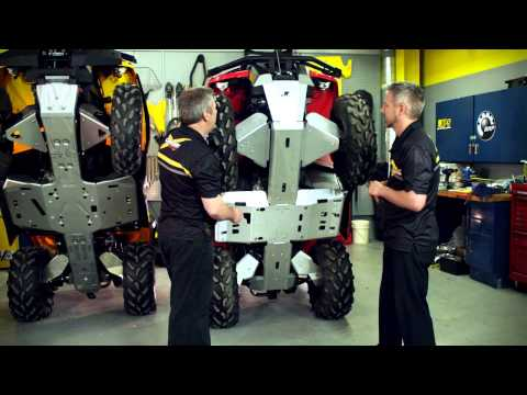 Can-Am Off-Road ATV - Skid Plates
