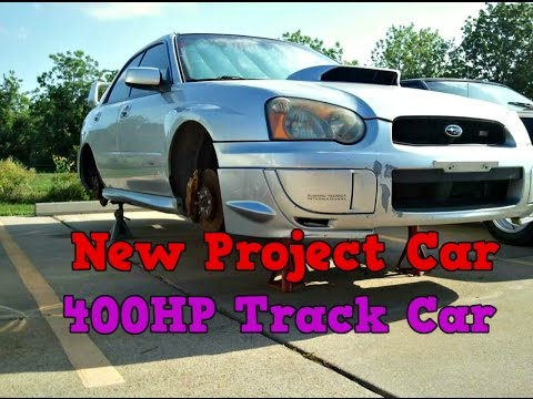 Abandoned WRX STi Project Starts - Ep.1: 500WHP Track Car. New Project Car