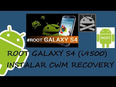 GALAXY S4 (I9500) - ROOT + CWM RECOVERY