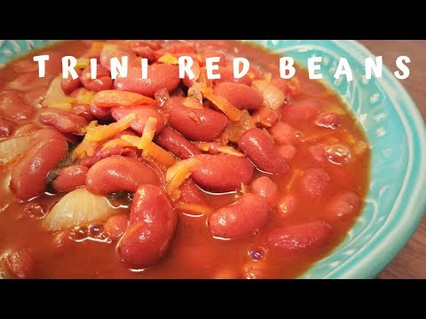 Stewed Red Beans - Trini Style - Episode 61