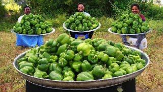 Capsicum Masala Recipe | Green Pepper Masala Curry | Capsicum Gravy Recipe | Grandpa Kitchen