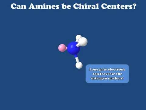 Nitrogen as a Chiral Center