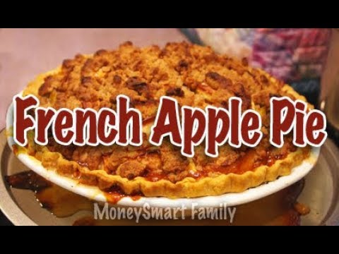 How to Make the Best Homemade French Apple Pie w/ Crumb Topping -  Cooking with Annette Economides