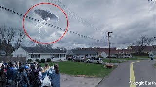 7 Mysterious UFO Sightings Found On Google Earth